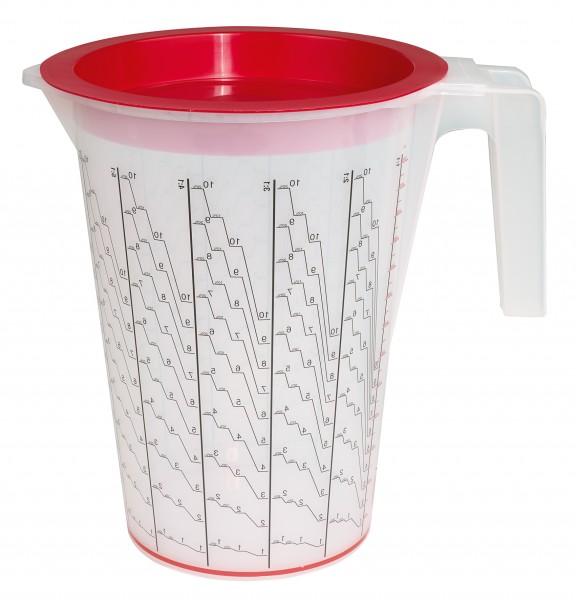 Mischbechersystem Maxi (5000 ml) 1 Aussenbehälter + 100 Einsatzbecher