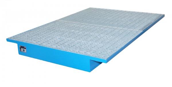 EHW 1800, lackiert - lichtblau 1750x1250/915x160mm, Trägerlänge 1800mm, 200 Liter