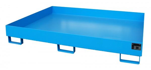 RW 1800, lackiert - lichtblau 1750x1300x250mm, Trägerlänge 1800mm, 240 Liter