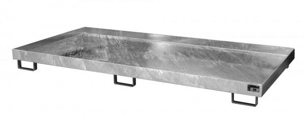 RW 2700-1, feuerverzinkt 2650x1300x210mm, Trägerlänge 2700mm, 240 Liter