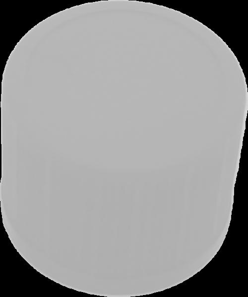 Schraubverschluß RD 18 weiß m. Spritzeinsatz 3mm Öffnung