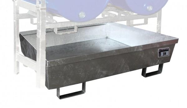 Fassregalwanne FRA-2, feuerverzinkt 1200x1200x355mm, 280Liter