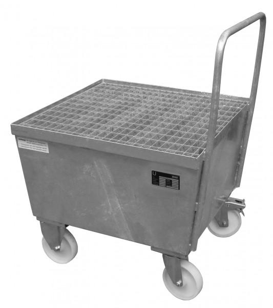 AW-F 1, feuerverzinkt 800x800x695mm, 1 x 200-l-Fass, 215 Liter