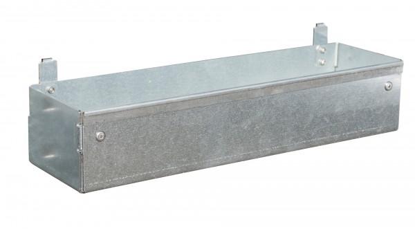 Werkzeugablage für Auffangwannen mit Lochplattenwand Typ LPW 305x80x85mm