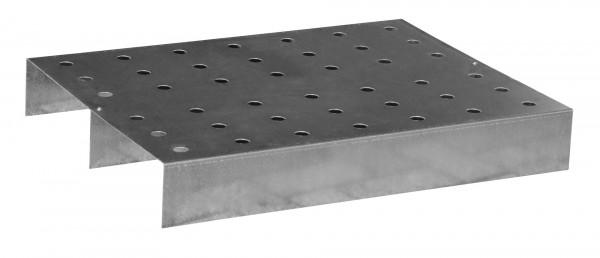 Lochblech-Rost passend für KGW-P 2, Edelstahl 790x590x115
