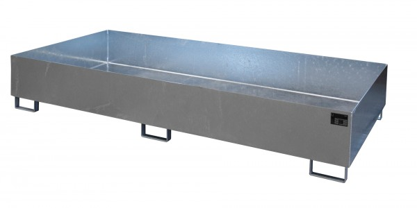 RW 2700-3, feuerverzinkt 2650x1300x435mm, Trägerlänge 2700mm, 1000 Liter