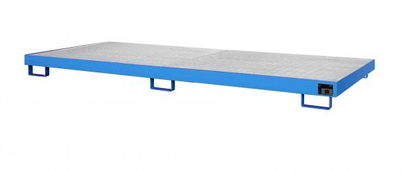 RW-GR 3300-1, lackiert - lichtblau 3250x1300x190mm, Trägerlänge 3300mm, 240 Liter