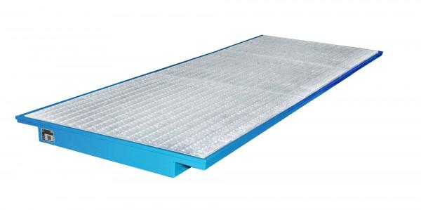 EHW 3600, lackiert - lichtblau 3550x1250/915x115mm, Trägerlänge 3600mm, 260 Liter