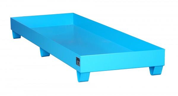 AW 2040, lackiert - lichtblau 2400x800x250mm, 241 Liter