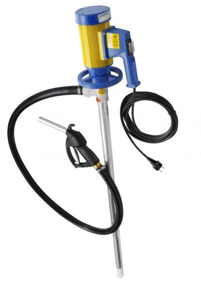 JP-280-3 ALU 230 V für Mineralölprodukte 112 l/min Rotor / 83 l/min Impeller, Pumpwerk 1000 mm, Tauc