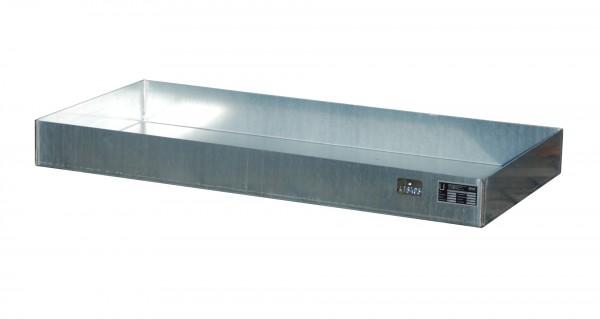 KGW für Paletten KGW-P 4, verzinkt 1200x600x100, 60 Liter