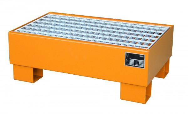 AW 60-1/M, lackiert - gelborange 800x500x290mm, 2 x 60-l-Fässer, 61 Liter