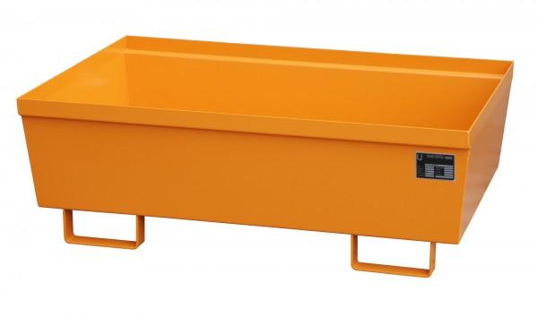 AO-2, lackiert - gelborange 1200x800x415mm, 246 Liter