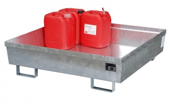 AO-4/A, feuerverzinkt 1200x1200x335mm, 280 Liter