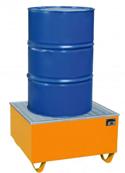 AW-1/PE, lackiert - gelborange 815x815x470mm, 1 x 200-l-Fass, 200 Liter