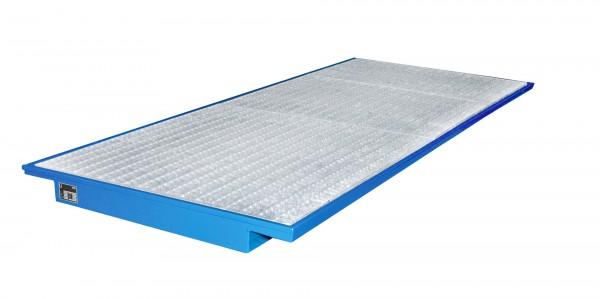 EHW 3300, lackiert - lichtblau 3250x1250/915x110mm, Trägerlänge 3300mm, 200 Liter