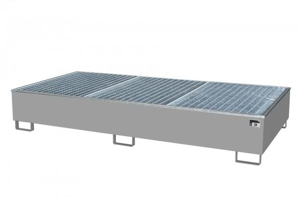 AW 1000-2/PE, feuerverzinkt 2665x1315x440mm, 2 x 1000-l-IBC, 1000 Liter