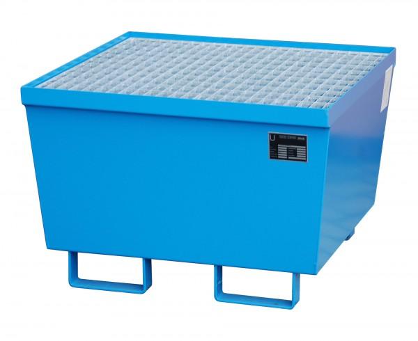 AM-1, lackiert - lichtblau 800x800x545mm, 1 x 200-l-Fass, 215 Liter