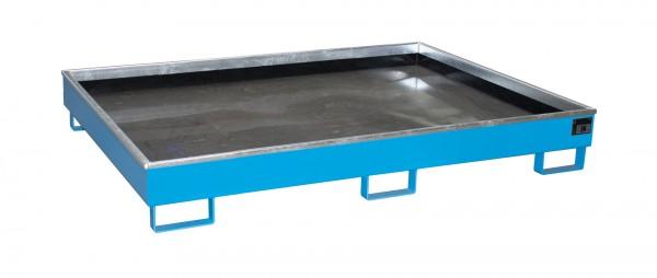 RW 1800 PE, lackiert - lichtblau 1765x1315x255mm, Trägerlänge 1800mm, 240 Liter