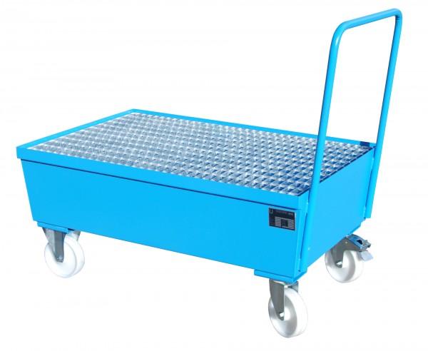 AW-F 2, lackiert - lichtblau 1200x800x595mm, 2 x 200-l-Fass, 225 Liter