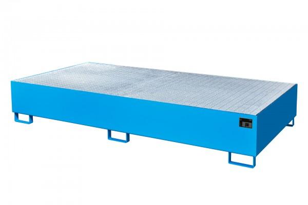 AW 1000-2, lackiert - lichtblau 2650x1300x435mm, 2 x 1000-l-IBC, 1000 Liter
