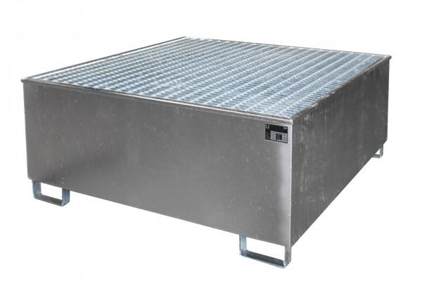AW 1000/PE, feuerverzinkt 1475x1475x625mm, 1 x 1000-l-IBC, 1000 Liter