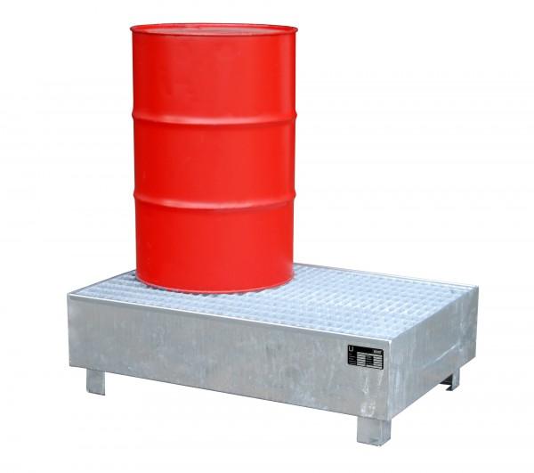 WM-2/200, feuerverzinkt 1200x800x365mm, 2 x 200-l-Fässer, 215 Liter
