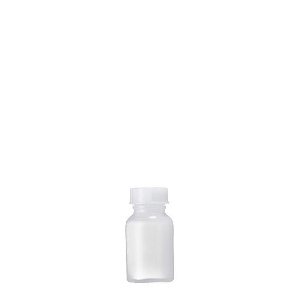 Weithalsflasche PP, 100 ml kompl. mit Verschluß