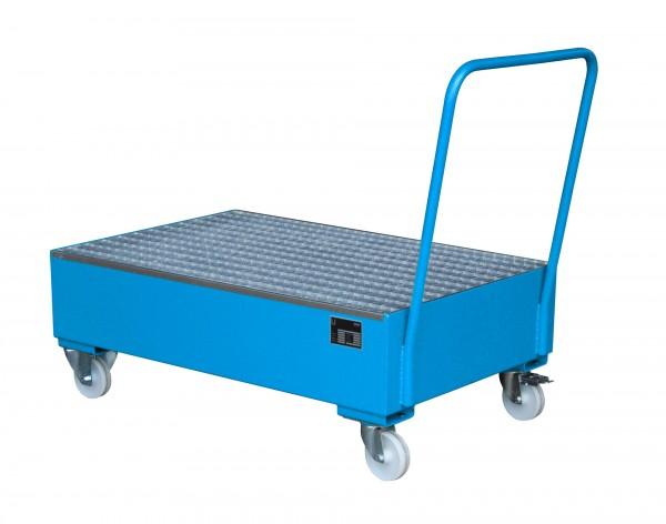 FA 2020, lackiert - lichtblau 1200x800x515mm, 2 x 200-l-Fass, 211 Liter