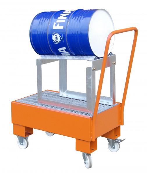 FA AW 60-1 SRF, lackiert - gelborange 800x500x415mm, 1 x 60-l-Fass, 61 Liter