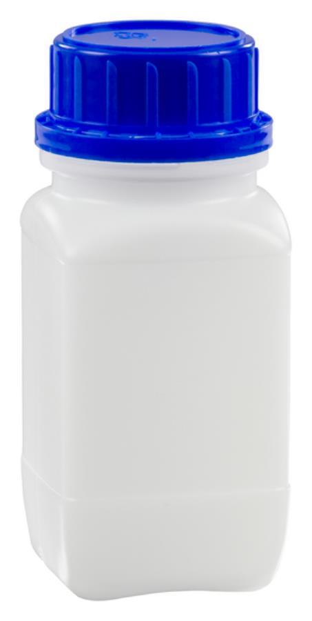 chemikalien weithalsflasche hd pe natur 250 ml mit un zulassung und originalit tsverschluss. Black Bedroom Furniture Sets. Home Design Ideas