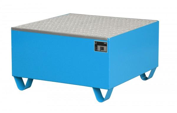 AW 2002, lackiert - lichtblau 800x800x460mm, 1 x 200-l-Fass, 203 Liter