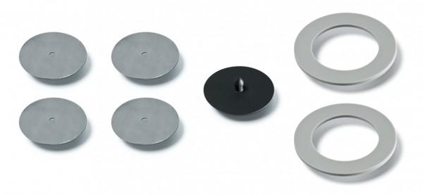 Moldex 9974 Dichtungs- und Ventil-Set für Masken 9000 2 x Dichtungen, 1 x Ausatemventilmembran und 4