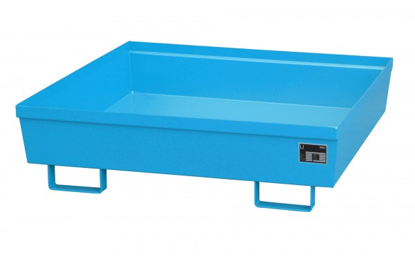 AO-4/A, lackiert - lichtblau 1200x1200x335mm, 280 Liter