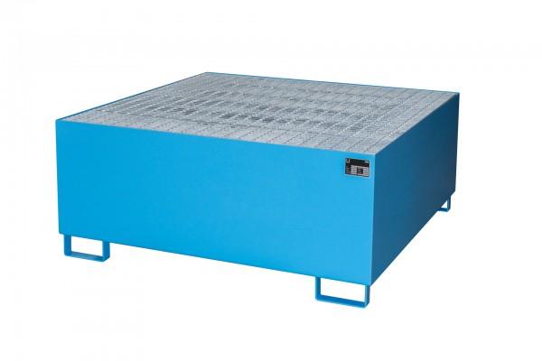 AW 1000, lackiert - lichtblau 1460x1460x620mm, 1 x 1000-l-IBC, 1000 Liter