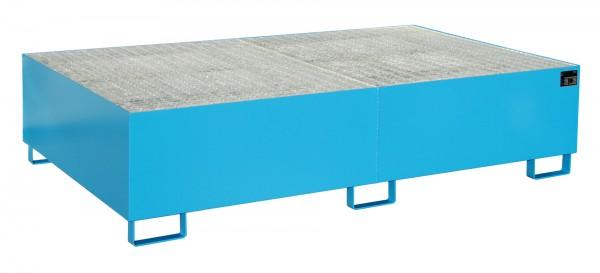 RW-GR 2200-2, lackiert - lichtblau 2150x1300x505mm, Trägerlänge 2200mm, 1000 Liter