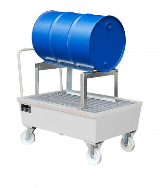 AST, feuerverzinkt 1280x800x565mm, 1 x 200-l-Fass, 225 Liter
