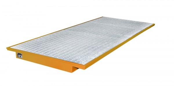 EHW 3300, lackiert - gelborange 3250x1250/915x110mm, Trägerlänge 3300mm, 200 Liter