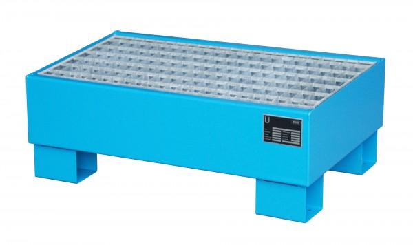 AW 60-1/M, lackiert - lichtblau 800x500x290mm, 2 x 60-l-Fässer, 61 Liter