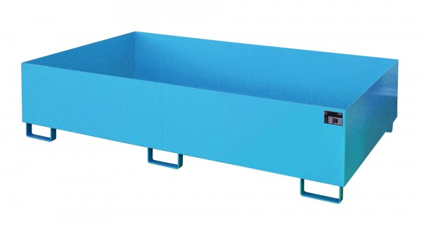 RW 2200-2, lackiert - lichtblau 2150x1300x505mm, Trägerlänge 2200mm, 1000 Liter