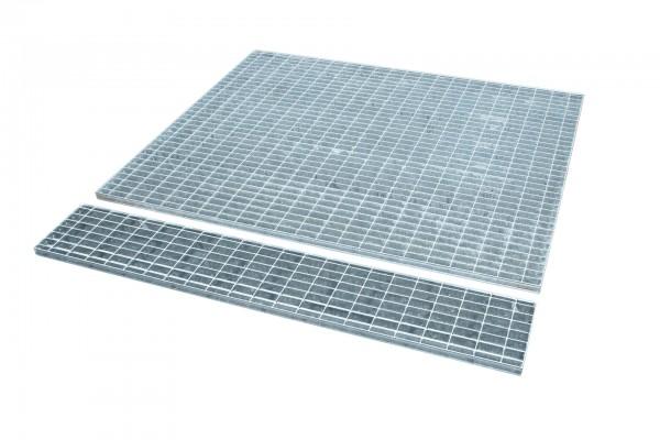 Gitterrost passend für VAW 1000, feuerverzinkt 1440x1435x30mm