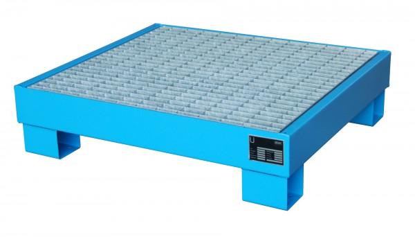 AW 60-2/M, lackiert - lichtblau 900x800x220mm, 4 x 60-l-Fässer, 61 Liter