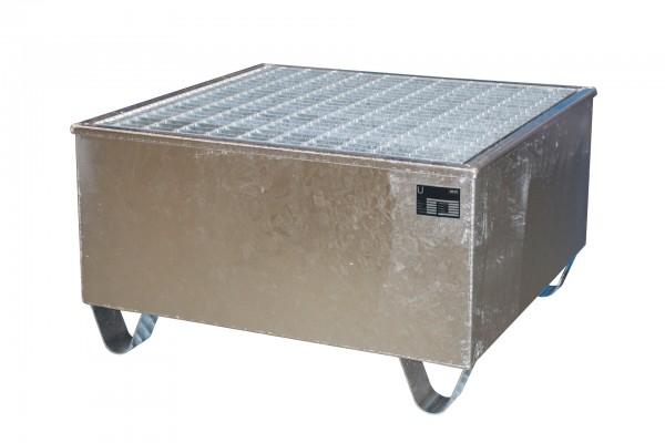 AW-1/PE, feuerverzinkt 815x815x470mm, 1 x 200-l-Fass, 200 Liter
