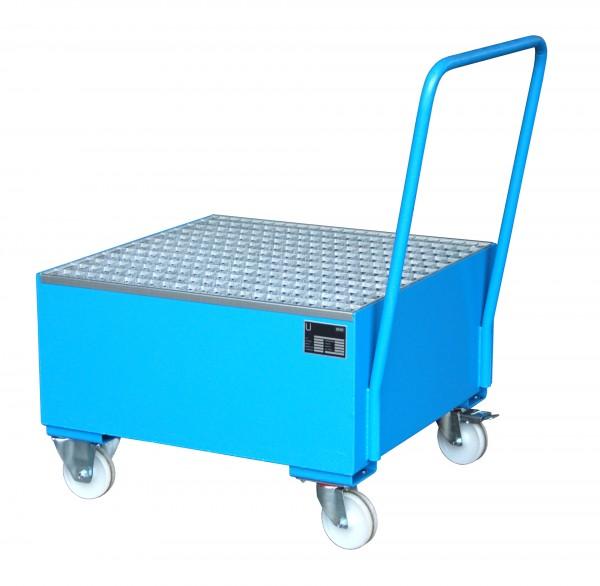 FA 2004, lackiert - lichtblau 800x800x610mm, 1 x 200-l-Fass, 203 Liter