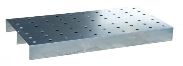 Lochblech-Rost passend für KGW 3, Edelstahl 990x590x65mm