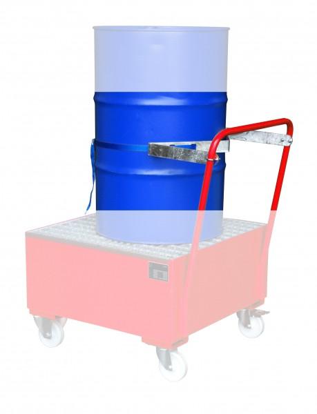 Fasshalterung mit Spanngurt für 1 x 200 Liter Fass 685x350x50mm