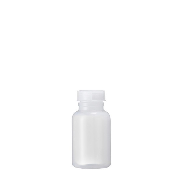 Weithalsflasche PP, 250 ml kompl. mit Verschluß