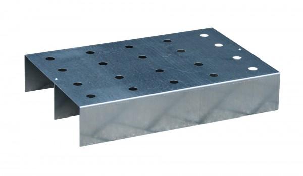 Lochblech-Rost passend für KGW-P 1, verzinkt 590x390x115