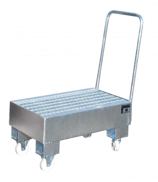 FA AW 60-1 SR, feuerverzinkt 800x500x415mm, 2 x 60-l-Fass, 61 Liter