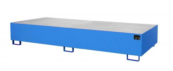 RW-GR 3300-3, lackiert - lichtblau 3250x1300x380mm, Trägerlänge 3300mm, 1000 Liter